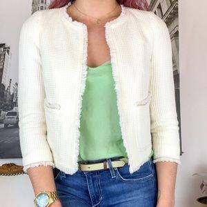 Zara Textured Jackie O Jacket